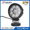 luz de trabajo auto de 27W LED para el proyector de la lámpara del coche 4.5inch