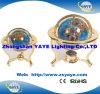 Yaye 18熱い販売法110mm/150mm/220mm/330mmの3脚の宝石用原石の地球/世界の地球