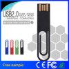 Palillo impermeable de la memoria del USB 2.0 del clip de papel del regalo promocional