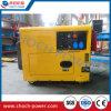 tipo silencioso generador de 5kVA/6kVA del diesel