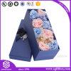 Kundenspezifischer verpackenfirmenzeichen-Druckpapier-Rosen-Geschenk-Blumen-Luxuxkasten