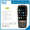Explorador del código de barras del supermercado del móvil del androide 5.1 de la base 4G 3G G/M del patio de Zkc PDA3503 China Qualcomm