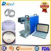 Lettera della marcatura del laser della fibra/figura/metallo portatile/macchina di plastica di CNC