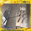 Profil en aluminium d'extrusion avec traiter profondément pour la rambarde