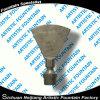 Bocal liso do aço inoxidável 304 da fonte