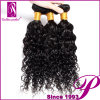 Breve Curly Afro Human Hair Pieces per le donne di colore