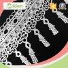 幾何学的な円の装飾のコードのレースファブリックフリンジの化学薬品のレース