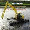 Excavador flotante del humedal del excavador del excavador anfibio del fabricante hecho en China