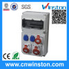 세륨과의 Industrail Plastic Power Combination Box