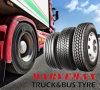 RadialTruck Tire, Commercial Truck Tire (SmartWay Verified, 11R24.5 11R22.5 295/75R22.5)