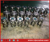 Válvula de bola forjado API 6D Perno capo flotante Tipo RF