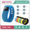 Wristband de Intellgient del silicón de Bluetooth 4.0 del Muti-Color de Zencro