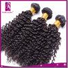 自然なカラー美しい織り方の人間のねじれたカールのアンゴラの毛