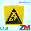 Muestra de camino solar de la señal de tráfico que contellea/LED para la seguridad del camino