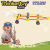 Los juguetes creativos del bloque hueco para los niños en la forma del coche