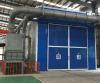 Sabbia Blasting Booths con Abrasive Recovery System