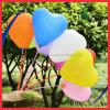 관례는 로고 심혼 모양 다채로운 인쇄한 헬륨 팽창식 유액 풍선을 소유한다