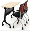 최신 판매 학교 손가락으로 튀김 상단 훈련 테이블, 강철 Foldable 테이블, 나무로 되는 정연한 접히는 책상