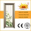 Porte en aluminium en verre d'oscillation extérieure de Commerical (SC-AAD069)