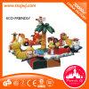 Matériel de parc d'attractions de carrousel de dessin animé de chaise pivotante à vendre