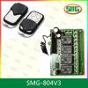 Commutateur à télécommande d'émetteur de C.C 12V de contrôleur momentané de récepteur (SMG-804)