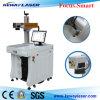 Pièces d'auto de haute précision/machine médicale d'inscription de laser de fibre d'outils