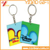 Promotional Giftのための方法Design PVC Keychain