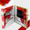 Kundenspezifische LCD-videobroschüre-Karte für Reklameanzeige