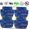 4 placa de circuito do PWB da camada Fr4 Biue Soldermask