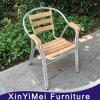 옥외 정원 알루미늄 의자를 겹쳐 쌓이기