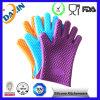 Перчатки BBQ силикона Potholder теплостойкNp