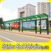 Personalizado Prefabricado Potencia recubierto de acero Bus Shelter