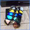 Lunettes de soleil de cristallin polarisées par métal de qualité