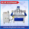 Ele 1325 4 Mittellinie CNC-Fräserengraver-Maschine, hölzerne Fräsmaschine CNC-3D mit 4 Wasserkühlung-Spindeln