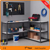 ガレージのツールラック、ガレージの鋼鉄棚、家具様式のリベットの棚
