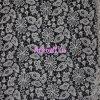 Mode Micro Fiber Lace Fabric pour Garment