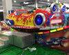 Het binnen Vermaak berijdt Gekke Roterende Auto voor de Apparatuur van de Speelplaats