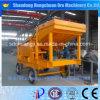 沖積金のプロジェクトのための移動式鉱山の洗濯機