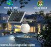 Luz solar nova do controle inteligente do projeto para a utilização ao ar livre