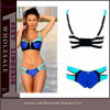 Heiße Verkaufs-Frauen-reizvolle Reißverschluss-Bikini-Bad-Klage-Badebekleidung (TWDL003)