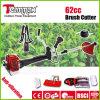 ротатабельный резец щетки газолина ручки 62cc с Anti-Vibration системой