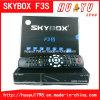 Коробка DVB F3s Skybox IPTV установленная верхняя