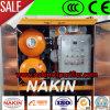 Máquina de filtración del tratamiento del petróleo de alto voltaje del transformador, máquina de la filtración del petróleo