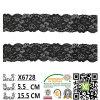 Cordón elástico africano al por mayor del ajuste para el vestido X6728