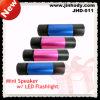Beweglicher im Freien Minilautsprecher mit Taschenlampe (JHD-011)