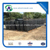 철사 Backed Silt Fence (90g Black Fabric)