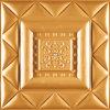 Tarjeta de talla de cuero de la pared del papel de empapelar 3D de China Suoya 1077-16 incombustible e impermeable