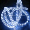 Frio branco 3 fios Flat Vertical LED Rope Light Strip