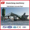 Planta Yhzs25 de tratamento por lotes concreta móvel com silo do cimento 100ton
