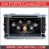 GPS, Bluetooth를 가진 KIA Forte/Cerato (2010년)를 위한 특별한 Car DVD Player. A8 Chipset Dual Core 1080P V-20 Disc WiFi 3G 인터넷 (CY-C038로)